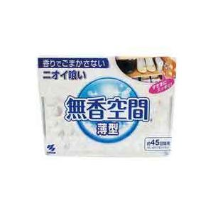 【送料無料】(業務用80セット)小林製薬 無香空間薄型 1個 〔×80セット〕【代引不可】