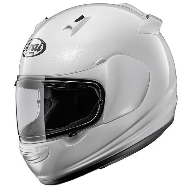 【送料無料】アライ(ARAI) フルフェイスヘルメット QUANTUM-J グラスホワイト M 57-58cm【代引不可】