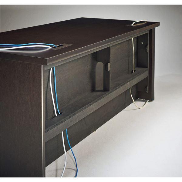 【送料無料】プレジデント用デスク(平机) PI-188D 〔社長室、役員用家具〕【代引不可】