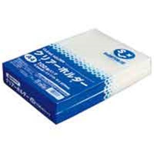 【送料無料】(業務用30セット) ジョインテックス クリアホルダーA4乳白100枚 D400J【代引不可】