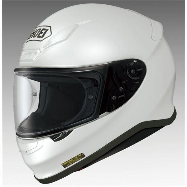 【送料無料】フルフェイスヘルメット Z-7 ルミナスホワイト M 〔バイク用品〕【代引不可】