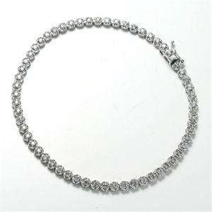 ダイヤモンド1CTテニスブレスレット【代引不可】【北海道・沖縄・離島配送不可】