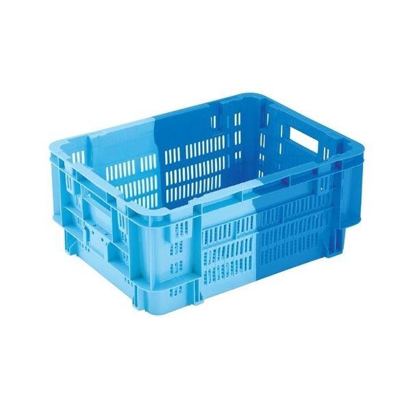 〔5個セット〕 業務用コンテナボックス/食品用コンテナー 〔NF-M50〕 ダークブルー/ブルー 材質:PP【代引不可】