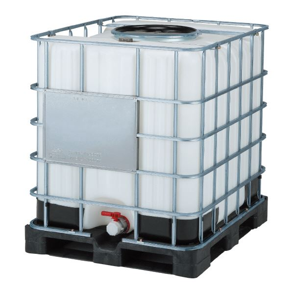 【送料無料】三甲(サンコー) サンバルク(液体輸送容器) #1000TC-450 セット ブラック(黒)×ホワイト(白)【代引不可】