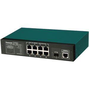 パナソニックESネットワークス 8ポート レイヤ2スイッチングハブ Switch-M8eGi【代引不可】【北海道・沖縄・離島配送不可】