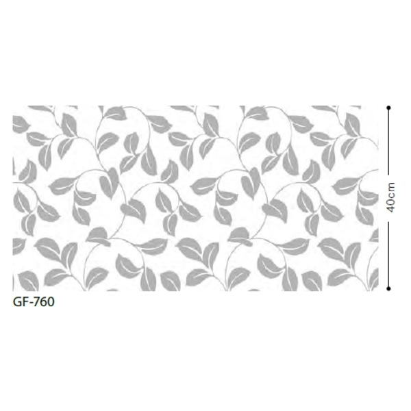 リーフ 飛散防止ガラスフィルム サンゲツ GF-760 92cm巾 5m巻【代引不可】