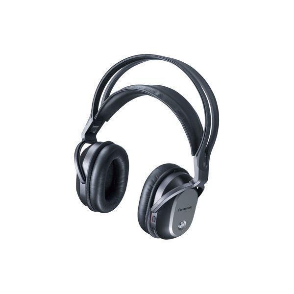 【送料無料】パナソニック(家電) デジタルワイヤレスサラウンドヘッドホンシステム (ブラック) RP-WF70-K 【代引不可】
