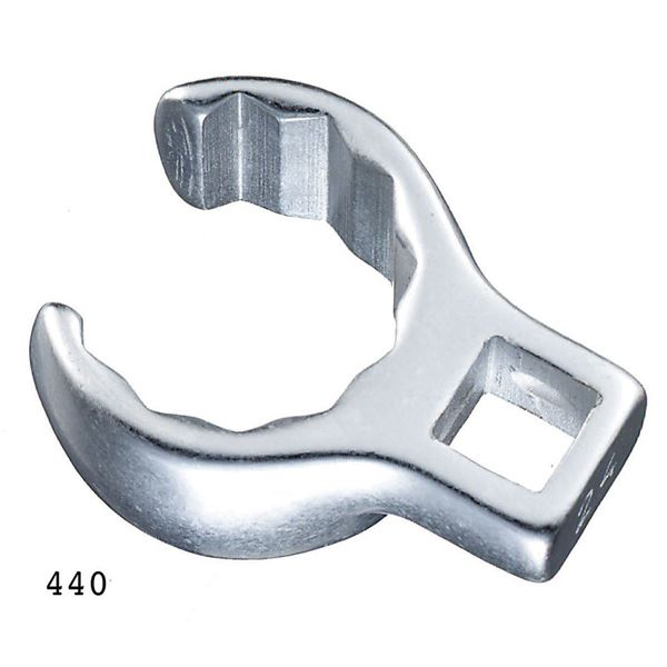 STAHLWILLE(スタビレー) 440A-1 (3/8SQ)クローリングスパナ (02490048)【代引不可】