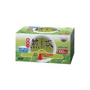 【送料無料】(業務用20セット) AGF 粉末茶新 茶人スティック 100本入 ×20セット【代引不可】