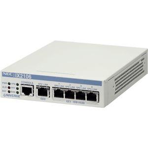 NEC 5年無償保証 VPN対応高速アクセスルータ UNIVERGE IX2106【代引不可】