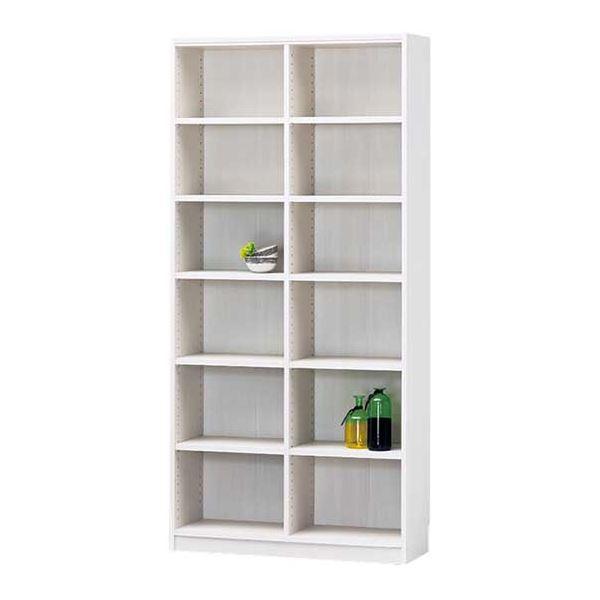 【送料無料】オープンラック/ボックス ホワイト 白 幅87cm×高さ180cm 〔Tanalio〕タナリオ 【代引不可】