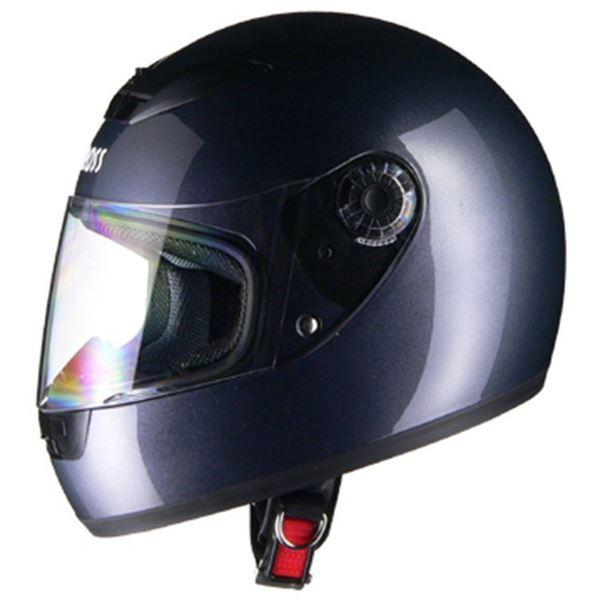 リード工業 (LEAD) フルフェイスヘルメット CR715 ガンメタリックGM フリー 【代引不可】【北海道・沖縄・離島配送不可】