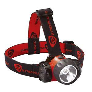 STREAMLIGHT(ストリームライト) 61250 ハズロ 1W LEDヘッドランプ(オレンジ) ATEX【代引不可】【北海道・沖縄・離島配送不可】