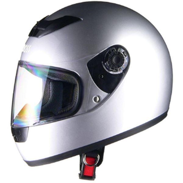 リード工業 (LEAD) フルフェイスヘルメット CR715 シルバーSI フリー 【代引不可】【北海道・沖縄・離島配送不可】