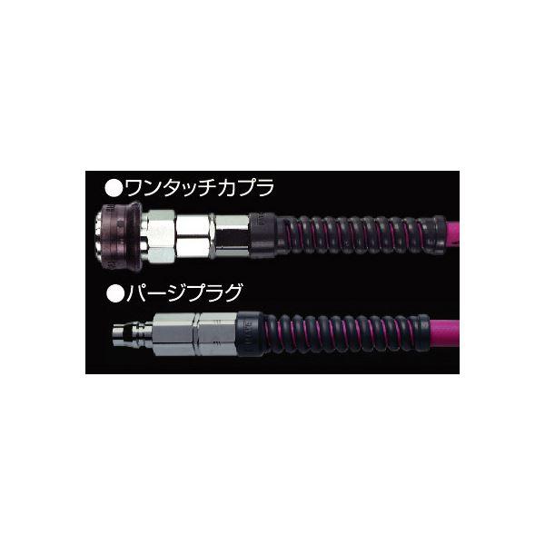 ハタヤリミテッド EXSU-103RC ソフトウレタン補助ホース 10M【代引不可】