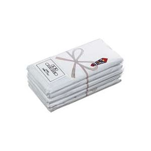 【送料無料】(業務用50セット) 中村 のし巻きタオル5枚入 白 ×50セット【代引不可】