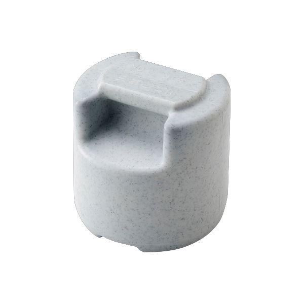 〔10セット〕 漬物石/漬物用品 〔#10R〕 本体:PE 内容物:コンクリート 〔キッチン用品 家庭用品 手づくり〕【代引不可】