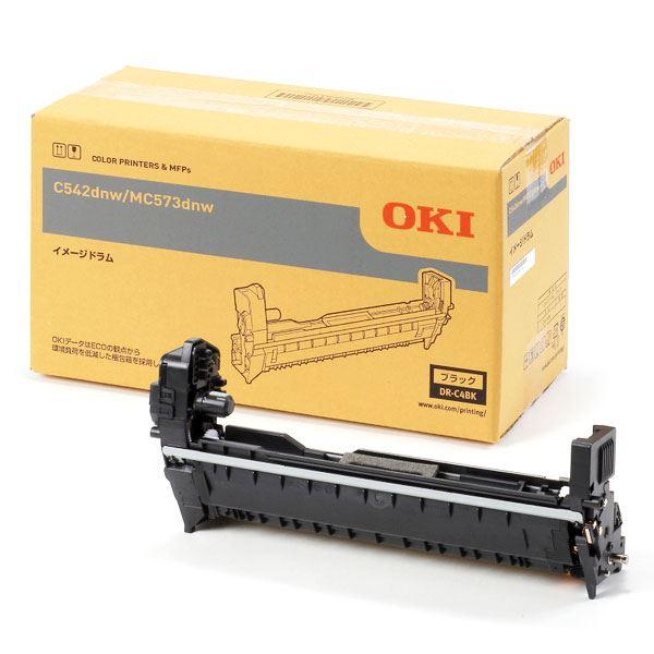 〔純正品〕OKI 沖電気 イメージドラム〔DR-C4BK ブラック〕 【代引不可】【北海道・沖縄・離島配送不可】