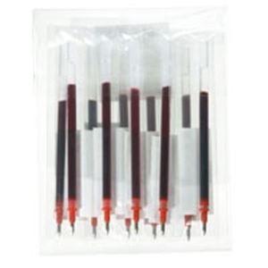 【送料無料】(業務用100セット) ジョインテックス ゲルボールペン替芯 赤 H011J-RD-10【代引不可】