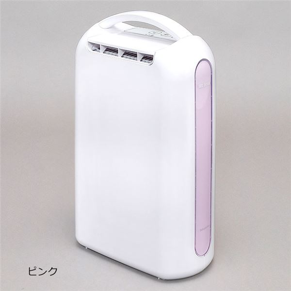 【送料無料】衣類乾燥除湿機(デシカント式) ピンク【代引不可】