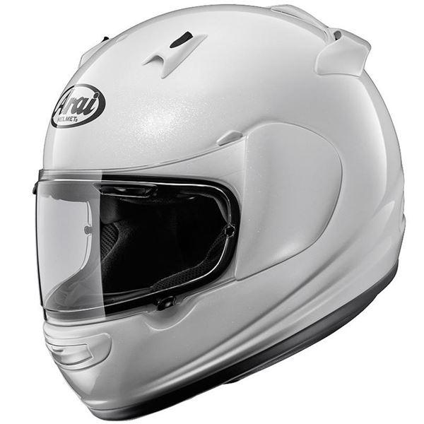 【送料無料】フルフェイスヘルメット QUANTUM-J グラスホワイト 61-62 〔バイク用品〕【代引不可】