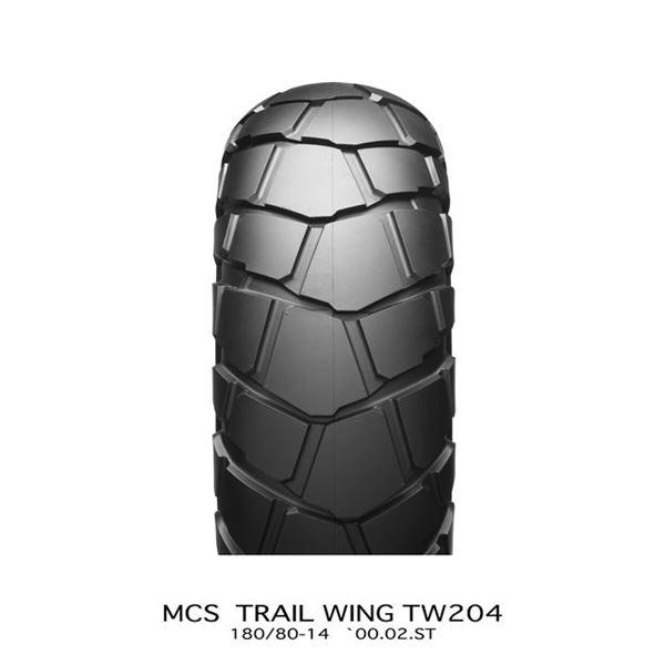 【送料無料】ブリヂストン タイヤ MCS07061 TW204 180/80-14 W 〔バイク用品〕【代引不可】
