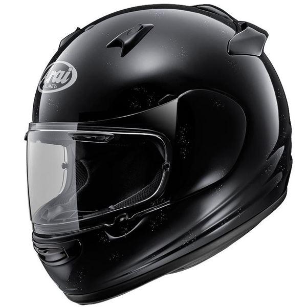 【送料無料】フルフェイスヘルメット QUANTUM-J グラスブラック 55-56 〔バイク用品〕【代引不可】