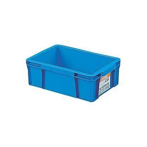 〔40セット〕 ホームコンテナー/コンテナボックス 〔HC-04B〕 ブルー 材質:PP 〔汎用 道具箱 DIY用品 工具箱〕【代引不可】