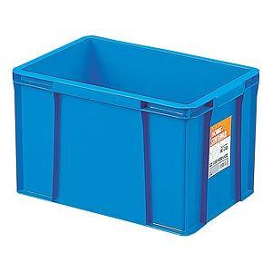 〔12セット〕 ホームコンテナー/コンテナボックス 〔HC-24B〕 ブルー 材質:PP 〔汎用 道具箱 DIY用品 工具箱〕【代引不可】【北海道・沖縄・離島配送不可】