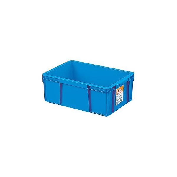 〔10セット〕 ホームコンテナー/コンテナボックス 〔HC-23A〕 ブルー 材質:PP 〔汎用 道具箱 DIY用品 工具箱〕【代引不可】【北海道・沖縄・離島配送不可】
