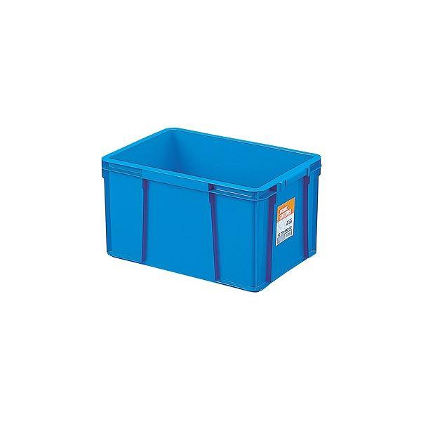 〔9セット〕 ホームコンテナー/コンテナボックス 〔HC-35A〕 ブルー 材質:PP 〔汎用 道具箱 DIY用品 工具箱〕【代引不可】