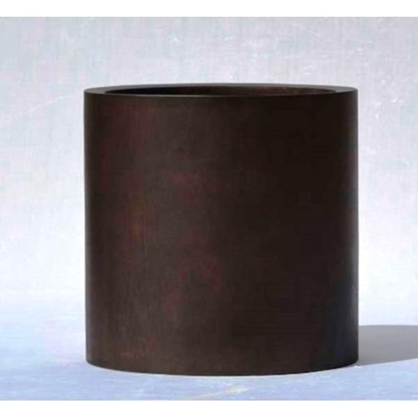 【送料無料】木目調樹脂製鉢カバー MOKU シリンダー 40cm【代引不可】