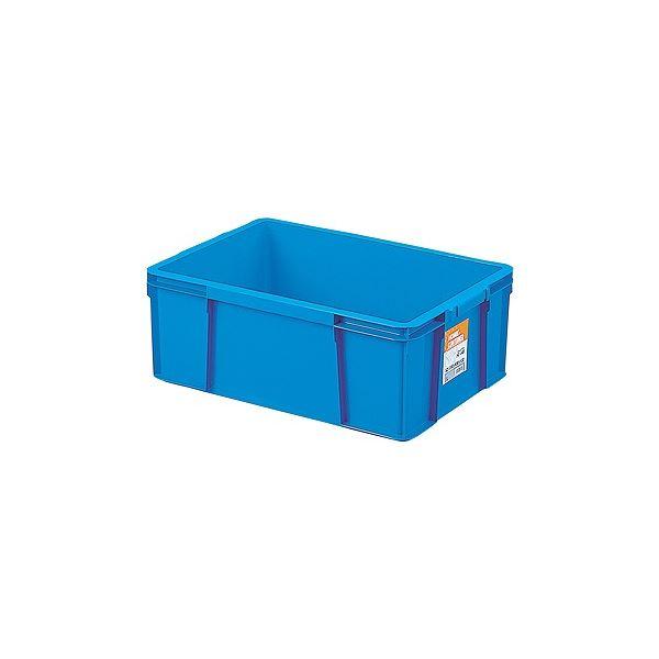 〔6セット〕 ホームコンテナー/コンテナボックス 〔HC-44B〕 ブルー 材質:PP 〔汎用 道具箱 DIY用品 工具箱〕【代引不可】