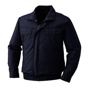 【送料無料】空調服 綿薄手長袖タチエリブルゾン リチウムバッテリーセット BM-500TBC69S4 チャコール 2L【代引不可】