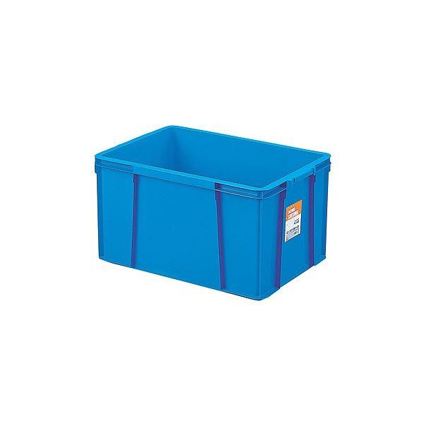 〔6セット〕 ホームコンテナー/コンテナボックス 〔HC-64B〕 ブルー 材質:PP 〔汎用 道具箱 DIY用品 工具箱〕【代引不可】【北海道・沖縄・離島配送不可】