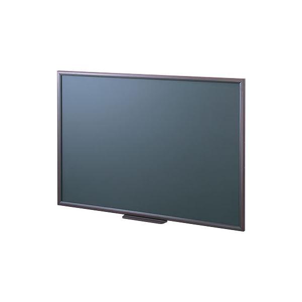 【送料無料】(業務用セット) 木製黒板 900×600 WCF-9060D〔×2セット〕【代引不可】