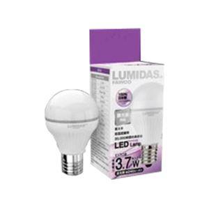 (まとめ) ファウ LumiDas-B 3.7W(調光器対応モデル) E17口金 昼光色相当 DBL04-JUE17S(P) 1個 〔×2セット〕【代引不可】