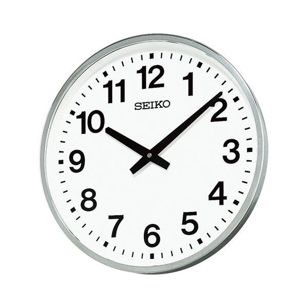 【送料無料】セイコークロック 屋外・防雨型掛時計 KH411S【代引不可】