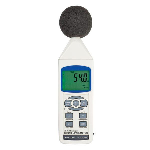 騒音計(データロガー) 騒音計 SL-1373SD【代引不可】【北海道・沖縄・離島配送不可】