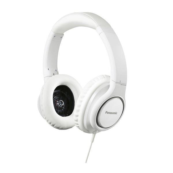 【送料無料】パナソニック ステレオヘッドホン (ホワイト) RP-HD5-W【代引不可】