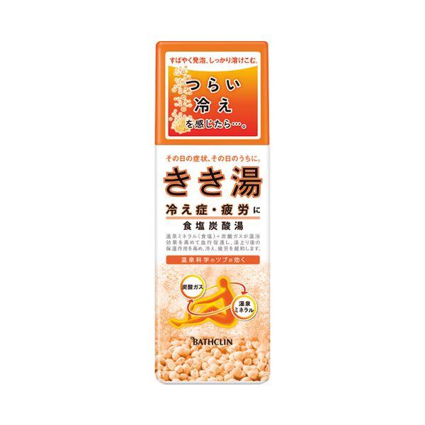 (業務用10セット) バスクリン きき湯 食塩炭酸湯 360g【代引不可】