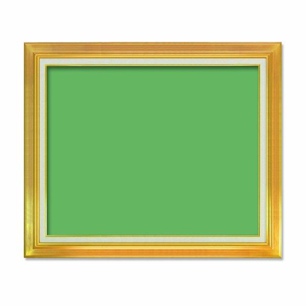 【送料無料】〔油額〕油絵額・キャンバス額・金の油絵額・銀の油絵額 ■F30号(910×727mm)「ゴールド」【代引不可】