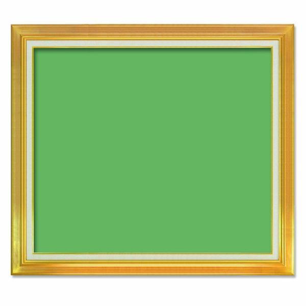 【送料無料】〔油額〕油絵額・キャンバス額・金の油絵額・銀の油絵額 ■F50号(1167×910mm)「ゴールド」【代引不可】