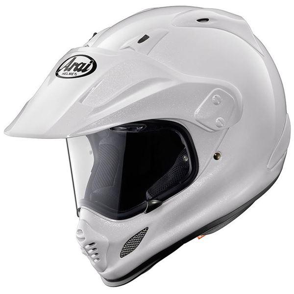 【送料無料】フルフェイスヘルメット TOUR CROSS 3 グラスホワイト 55-56 〔バイク用品〕【代引不可】