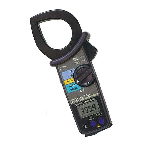 【送料無料】共立電気計器 キュースナップ・交流電流測定用クランプメータ 2002PA【代引不可】