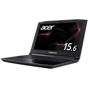 【送料無料】Acer PH315-51-A76H (Core i7-8750H/GeForceGTX1060/16GB/256GB SSD+1TB HDD/ドライブなし/IPS 15.6型 144Hz/Windows 10Home(64bit)/シェールブラック)【代引不可】