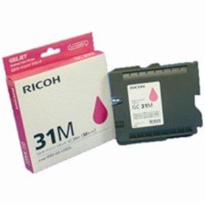 【送料無料】(業務用5セット) RICOH(リコー) ジェルジェットカートリッジ GC31Mマゼンタ【代引不可】