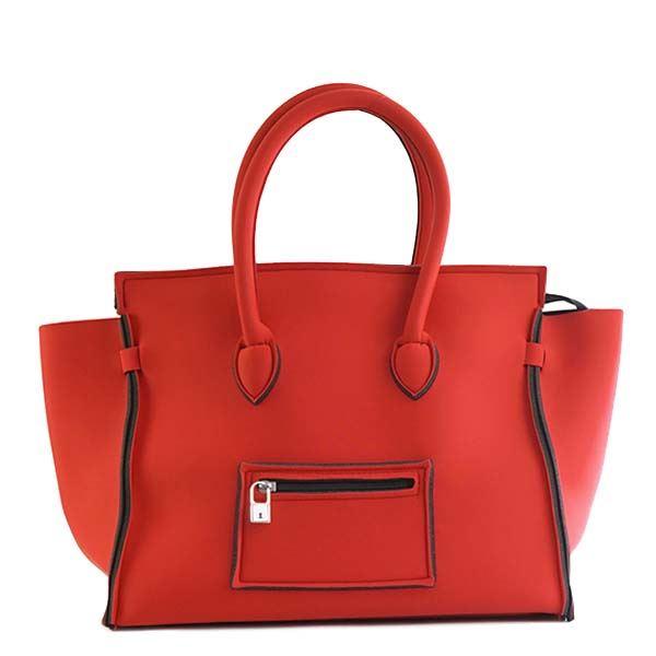 【送料無料】SAVE MY BAG(セーブマイバッグ) ハンドバッグ 2129N RED COAT【代引不可】