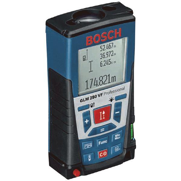 【送料無料】BOSCH(ボッシュ) GLM250VF レーザー距離計【代引不可】