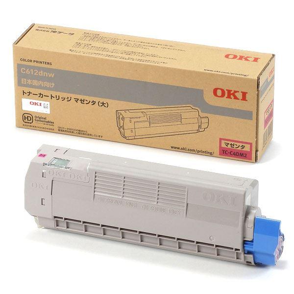 〔純正品〕 OKI TC-C4DM2 トナーカートリッジ マゼンタ 大 【代引不可】